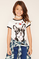 Forever 21 FOREVER 21+ Girls Bulldog Tee (Kids)