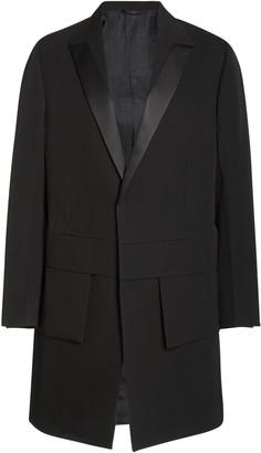 Alyx Apex Satin-Trimmed Wool Coat