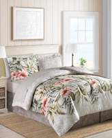 Sunham Palm Bay Reversible 8-Pc. Queen Bedding Ensemble
