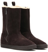 Bottega Veneta Winter Lagoon shearling-lined suede boots