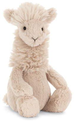 Jellycat Medium Bashful Llama Stuffed Animal