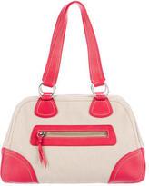 Miu Miu Leather-Trimmed Shoulder Bag