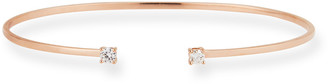 Lana 14k Gold Echo Diamond Cuff Bracelet