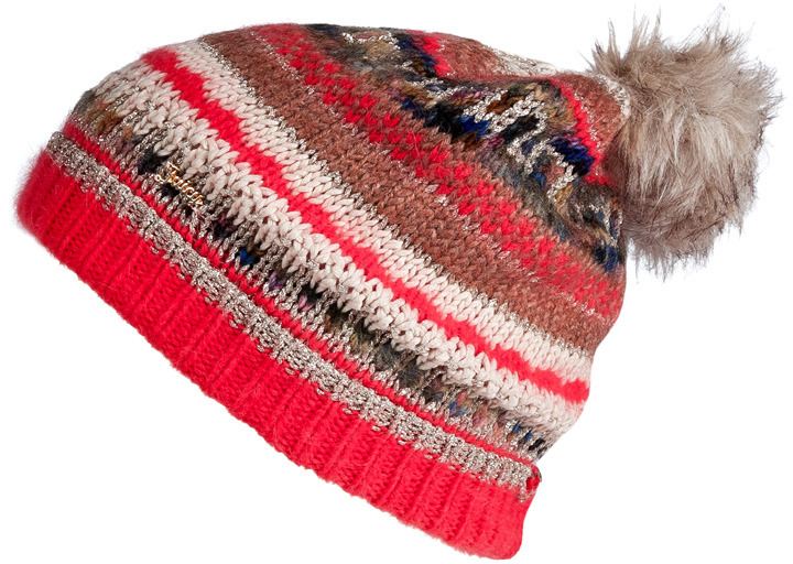 Juicy Couture Pale Linen-Multi Luxe Mixed Yarn Beanie