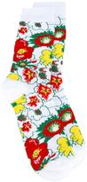 Stella McCartney Foolish Flowers socks - men - Cotton/Polyamide/Spandex/Elastane - S