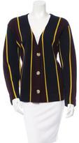 Dries Van Noten Wool Striped Cardigan w/ Tags