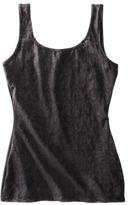 B.E. Beauty by Bali® Women's Lace Flip Tank Top - Black
