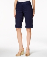 Charter Club Petite Cuffed Bermuda Shorts, Created for Macy's