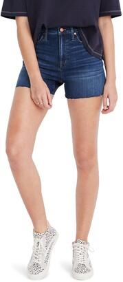 Madewell High Waist Denim Shorts
