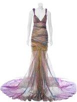 J. Mendel Abstract Evening Dress