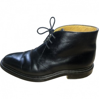 Crockett Jones Crockett& Jones Black Leather Boots