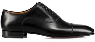 Christian Louboutin Grecco Leather Oxford Dress Shoes