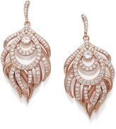 Kendra Scott Emelia Statement Earrings in Rose Gold