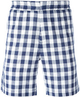 MSGM checked shorts - men - Cotton - 46