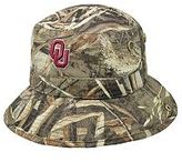 Top of the World Adult Oklahoma Sooners Realtree Camouflage Boonie Max Bucket Hat