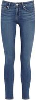 Paige Verdugo Blue Transcend Skinny Jeans