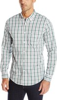 Dockers Long Sleeve 2 Plaid Comfort Stretch Woven Shirt