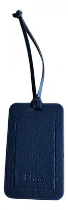 Christian Dior Navy Synthetic Small bags, wallets & cases