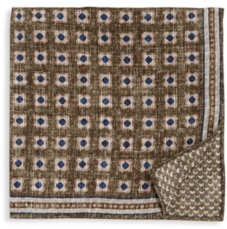 Brunello Cucinelli Reversible Pocket Square