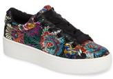 Steve Madden Women's Brody Embroidered Flower Sneaker