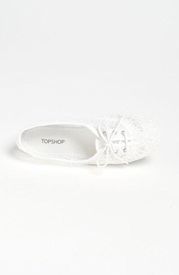 Topshop 'Twister' Flat