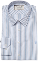 Thomas Pink Men's Nelson Classic Fit Striped Dress Shirt