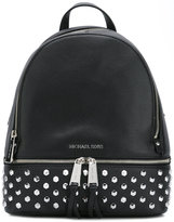 MICHAEL Michael Kors Rhea backpack - women - Calf Leather/Metal (Other) - One Size