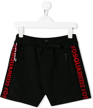 DSQUARED2 Logo Trim Shorts