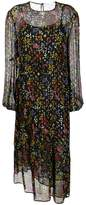 See by Chloe sheer floral midi dress