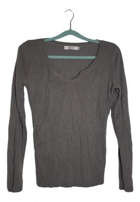Comptoir des Cotonniers Grey Silk Knitwear