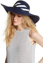 Vince Camuto Tied Scarf Floppy Hat