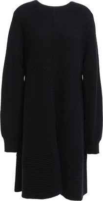 Proenza Schouler Ribbed Wool And Cashmere-blend Dress