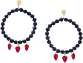 Venessa Arizaga Strawberry Kisses Pearl earrings