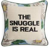 "Sparrow & Wren The Snuggle Is Real Needlepoint Decorative Pillow, 12"" x 12"" - 100% Exclusive"