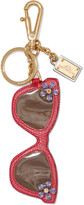 Dolce & Gabbana Crystal-embellished textured-leather keychain