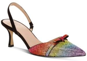 INC International Concepts Inc Women's Gelsey Slingback Kitten-Heel Pumps, Created for Macy's Women's Shoes