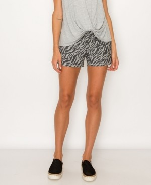 Coin Women's Zebra French Terry Shorts