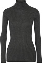Vince Ribbed- knit turtleneck sweater
