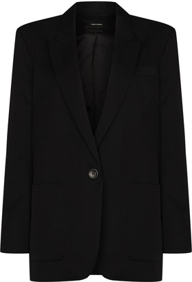 Isabel Marant Single-Breasted Blazer