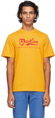 Martine Rose Yellow Probably The Best T-Shirt