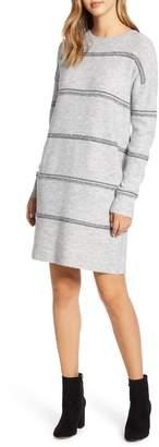 Caslon Crewneck Long Sleeve Sweater Dress
