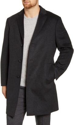 John W. Nordstrom Mason Wool & Cashmere Overcoat