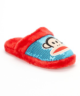Red & Turquoise Sequin Slide