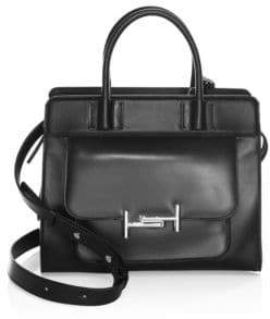 Tod's Double T Small Leather Satchel