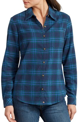Dickies Women's Plaid Flannel Shirt