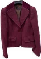 Etro Purple Wool Dress for Women Vintage