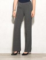 dressbarn roz&ALI Signature Fit Menswear Slim Bootcut Pants