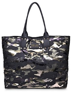 Sol & Selene Girl Medium Reversible Nylon Tote