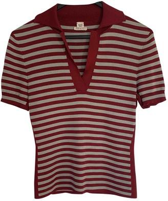 Hermes Red Silk Top for Women