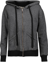 Current/Elliott Cotton-blend hooded sweatshirt